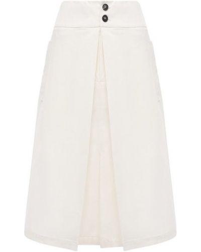 Хлопковая юбка - белая Tela