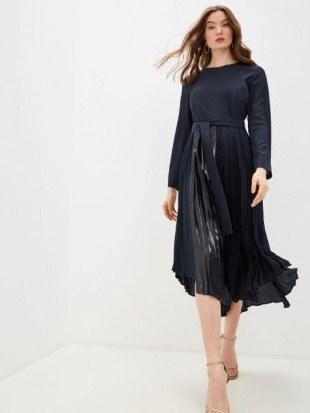 Синее повседневное платье Max&co