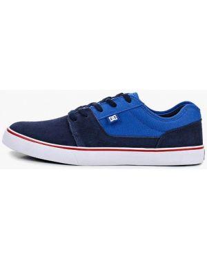 Низкие кеды замшевые синий Dc Shoes