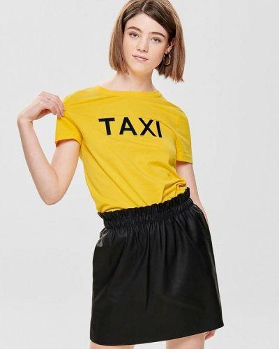 Желтая футболка 2019 Only