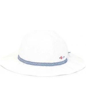 Шляпа белая свободного кроя Familiar