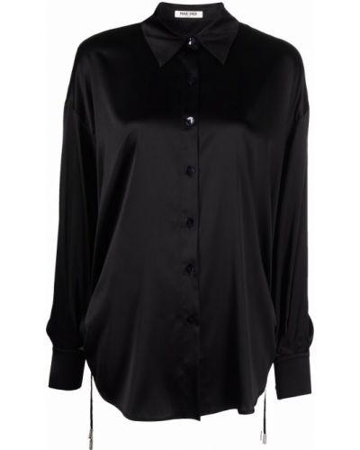 Рубашка с длинным рукавом - черная Max & Moi