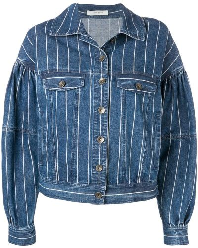 Синяя куртка с манжетами Three Floor