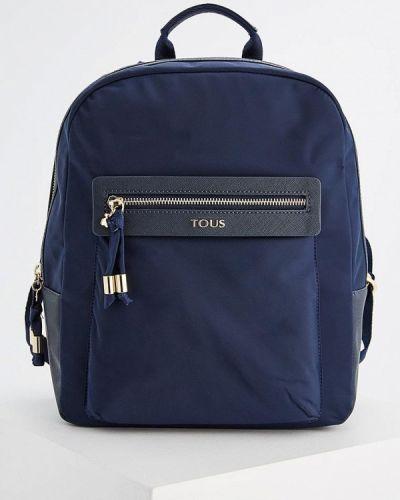 Нейлоновый рюкзак - синий Tous
