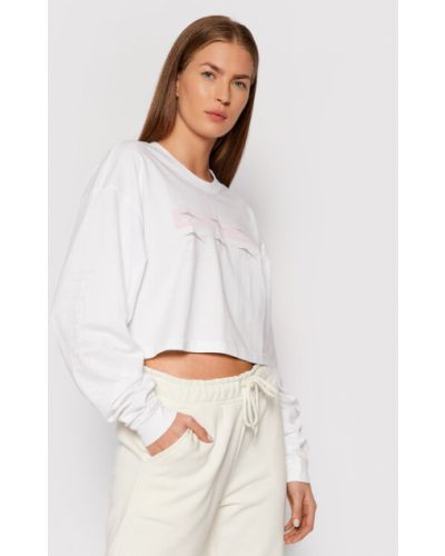 Bluzka oversize - biała Reebok Classic