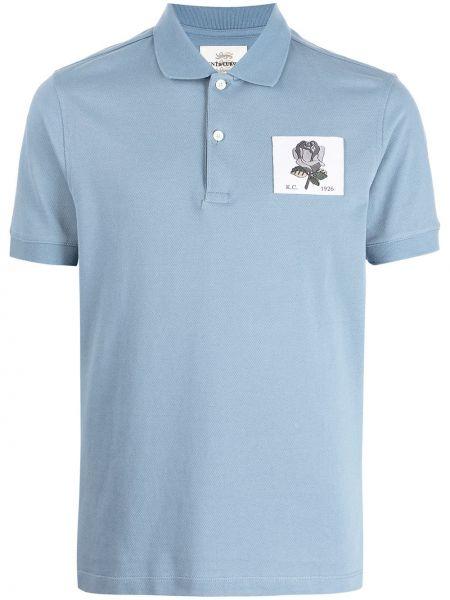 Niebieska koszula bawełniana Kent & Curwen