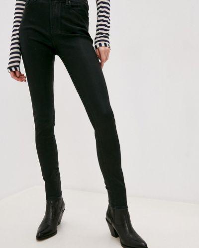 Черные джинсы-скинни узкого кроя Jacob Cohen