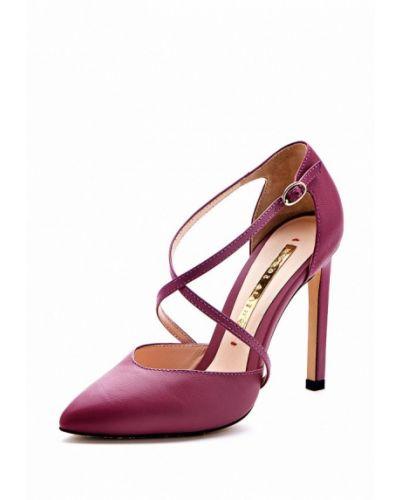 Кожаные туфли на каблуке Modus Vivendi