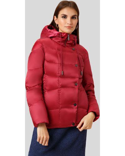 Утепленная куртка нейлоновая красная Finn Flare