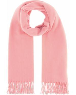 Шерстяной розовый шарф Acne Studios