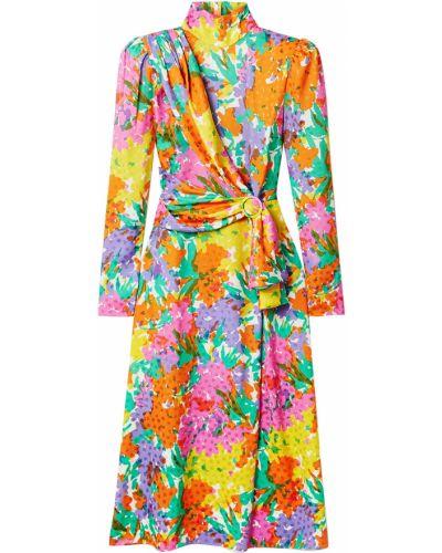 Шелковое платье миди Alessandra Rich