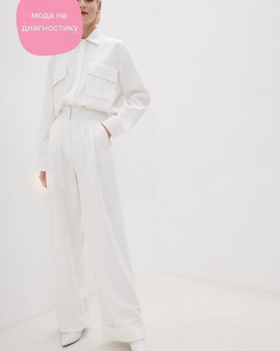 Костюмный белый брючный костюм Lipinskaya Brand
