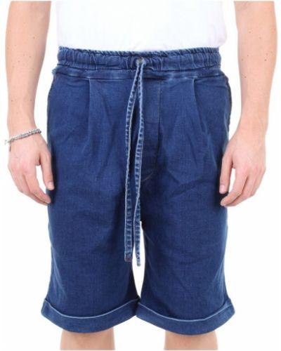Niebieskie bermudy jeansowe Dffrntly