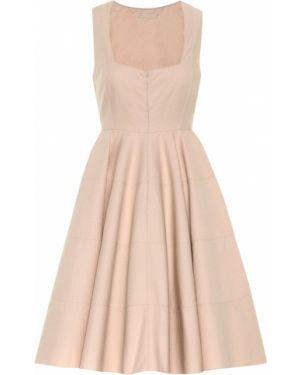 Расклешенное ажурное платье Alaïa