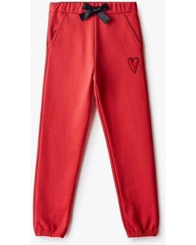 Красные спортивные брюки Sonia Rykiel