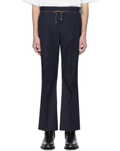 Spodnie z kieszeniami z paskiem Acne Studios