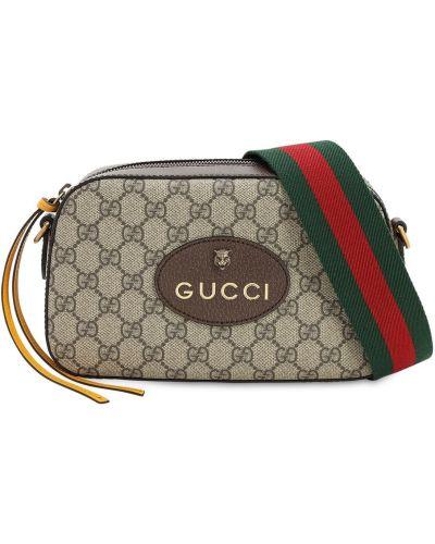 Torba na ramieniu skórzana plac Gucci