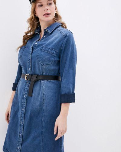 Джинсовое платье осеннее синее Studio Untold