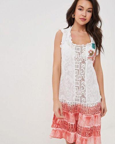 Пляжное платье - красное Venera