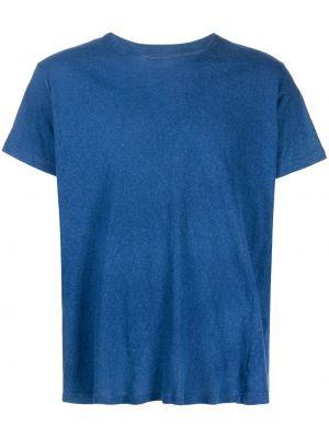 Синяя футболка с короткими рукавами Greg Lauren