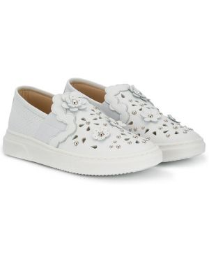 Белые кроссовки Ermanno Scervino Junior