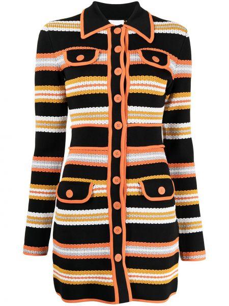 Трикотажный пиджак - оранжевый Alice Mccall