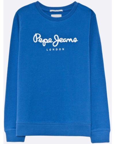 Джинсы эластичные с декоративной отделкой Pepe Jeans