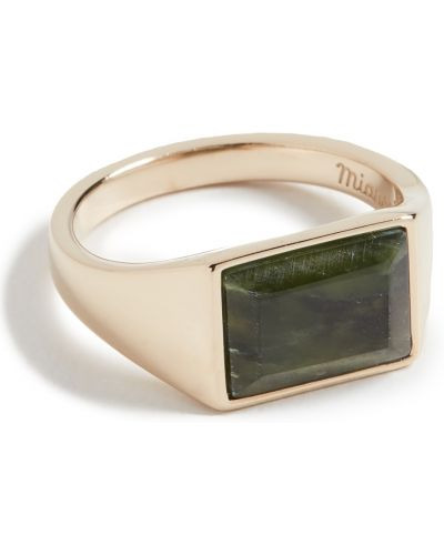 Зеленое кольцо Miansai