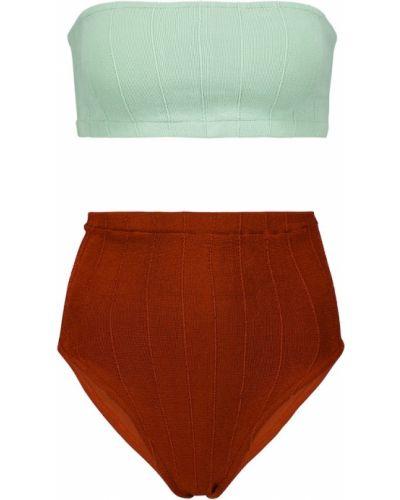 Нейлоновые коричневые бикини Hunza G