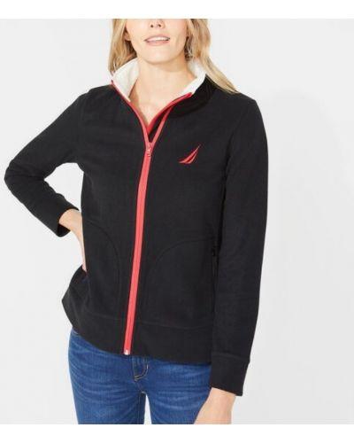 Флисовая куртка - черная Nautica