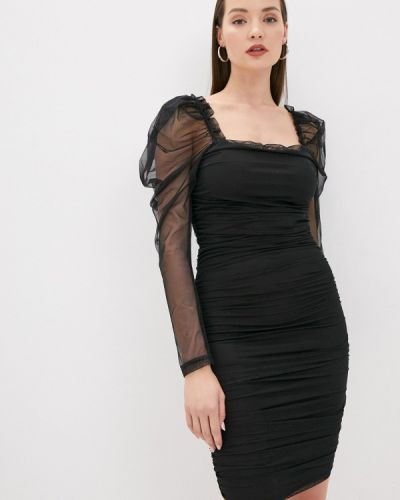 Черное вечернее платье Zabaione