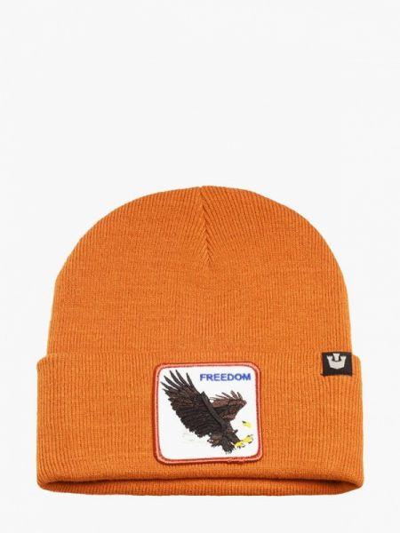 Оранжевая шапка Goorin Brothers