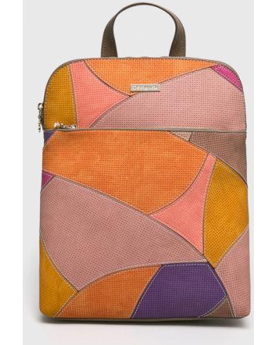 Кожаный рюкзак универсальный с подкладкой Desigual