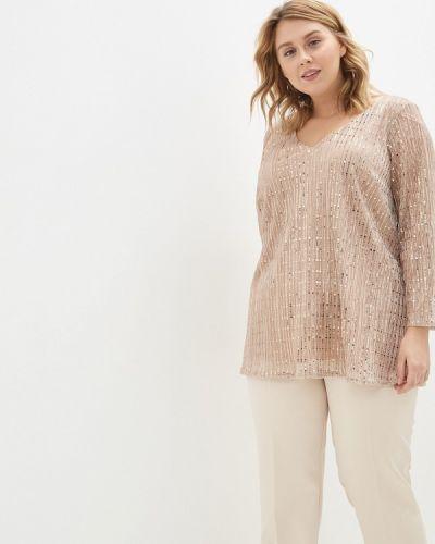 Блузка розовая Evans