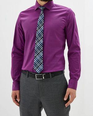 Рубашка с длинным рукавом фиолетовый всесезонный Bawer