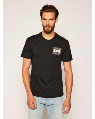 T-shirt - czarna Lee