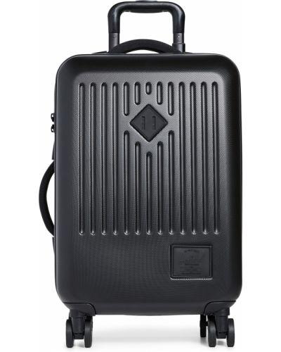 С ремешком текстильный черный чемодан Herschel Supply Co