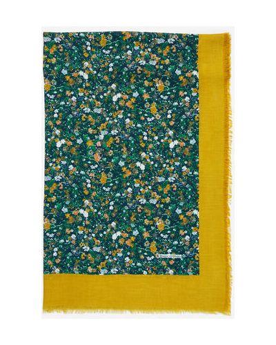 Szalik w paski bawełniany Marc O Polo