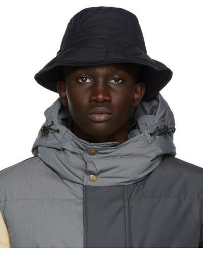 Złoty czarny kapelusz ocieplany Aime Leon Dore