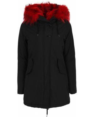 Куртка с капюшоном утепленная черная Canadian