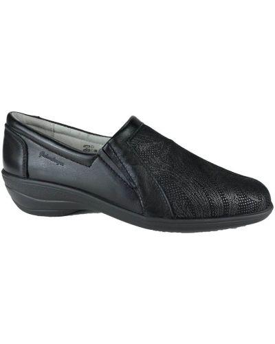 Czarne loafers Hickersberger