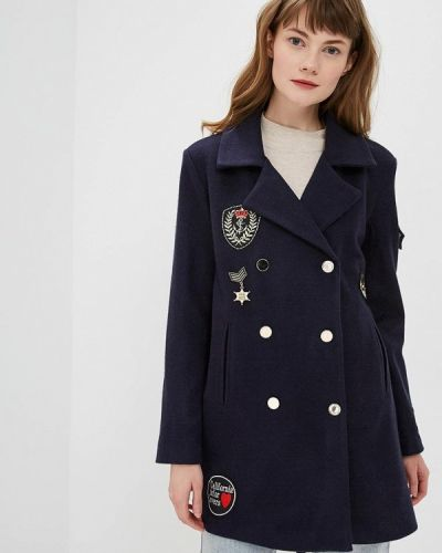 Пальто - синее Almatrichi