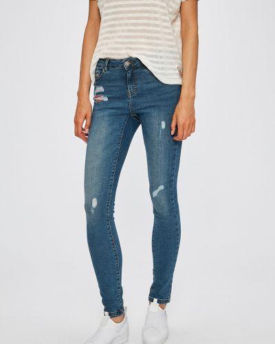 Синие джинсы-скинни Noisy May