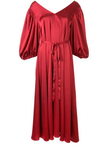 Свободное платье миди свободного кроя на молнии Stine Goya