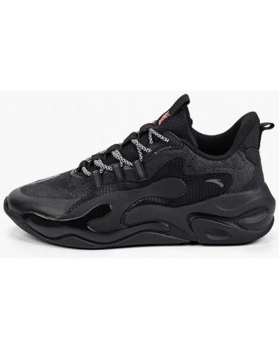 Кожаные кроссовки - черные Anta