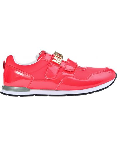 Красные кроссовки Moschino