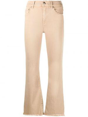 Хлопковые укороченные джинсы на молнии Jacob Cohen
