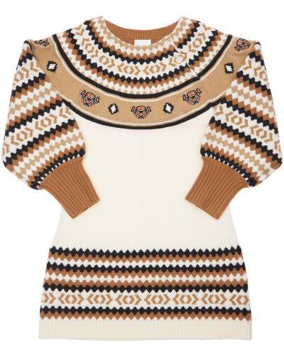Шерстяное платье Burberry