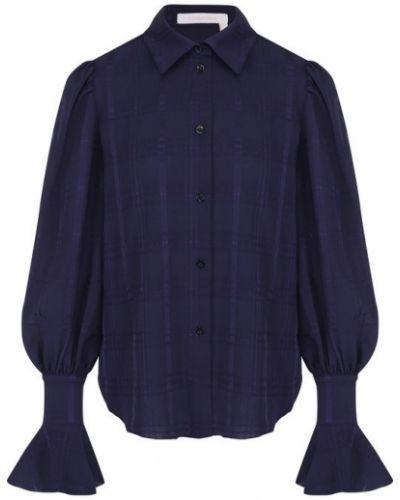 Блузка с расклешенными рукавами расклешенная See By Chloé