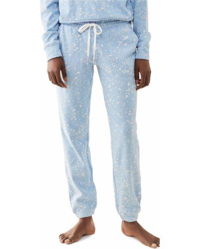 Хлопковые синие брюки на резинке Pj Salvage